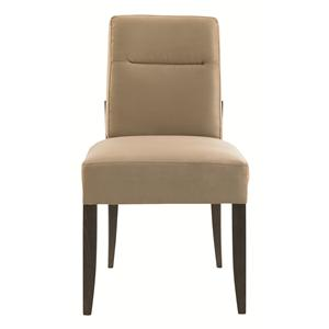 Craftsmen Side Chair with Upholstered Seat and Back