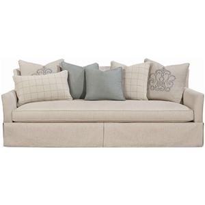 Outside In Brighton Sofa in Antique Cream by Schnadig