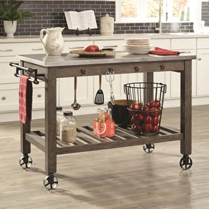 Scott Living 100527 Kitchen Island