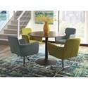 Scott Living 10296 Adjustable Modern Dining Chair