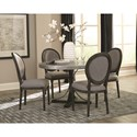 Scott Living 103066 Oval Back Dining Room Chair