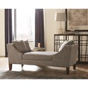 Scott Living 550117 Mid-Century Modern Double Sided Chaise