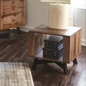 Scott Living 70549 Two-Toned Rustic End Table