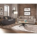 Scott Living 70552 industrial Adjustable Height Coffee Table