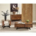 Scott Living 70563 Rustic Sofa Table