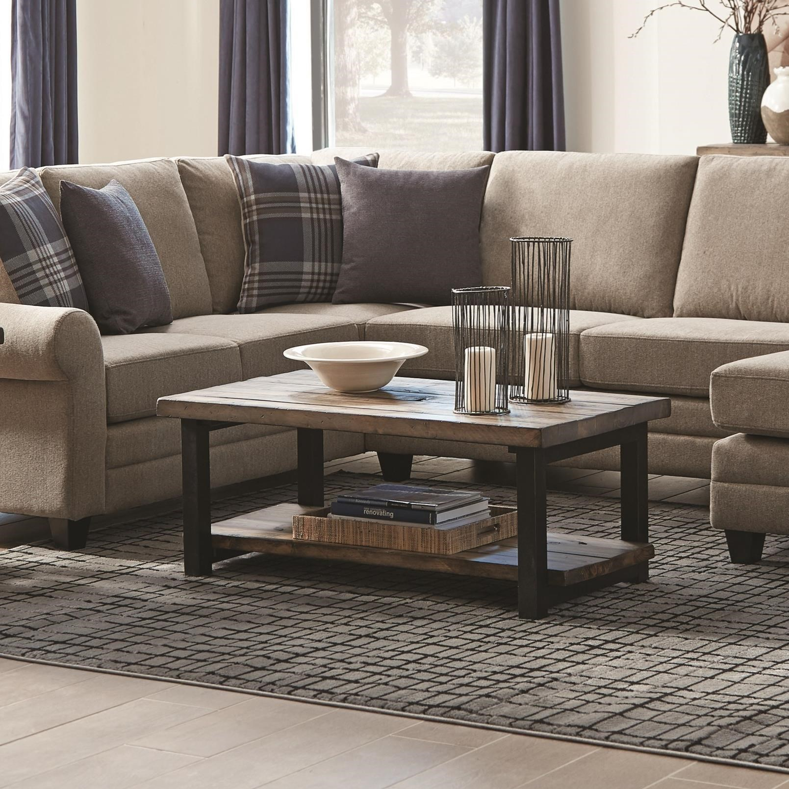 Scott Living Composition Coffee Table - Item Number: 705678