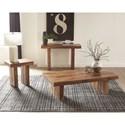 Scott Living 70584 Rustic Rectangular Coffee Table