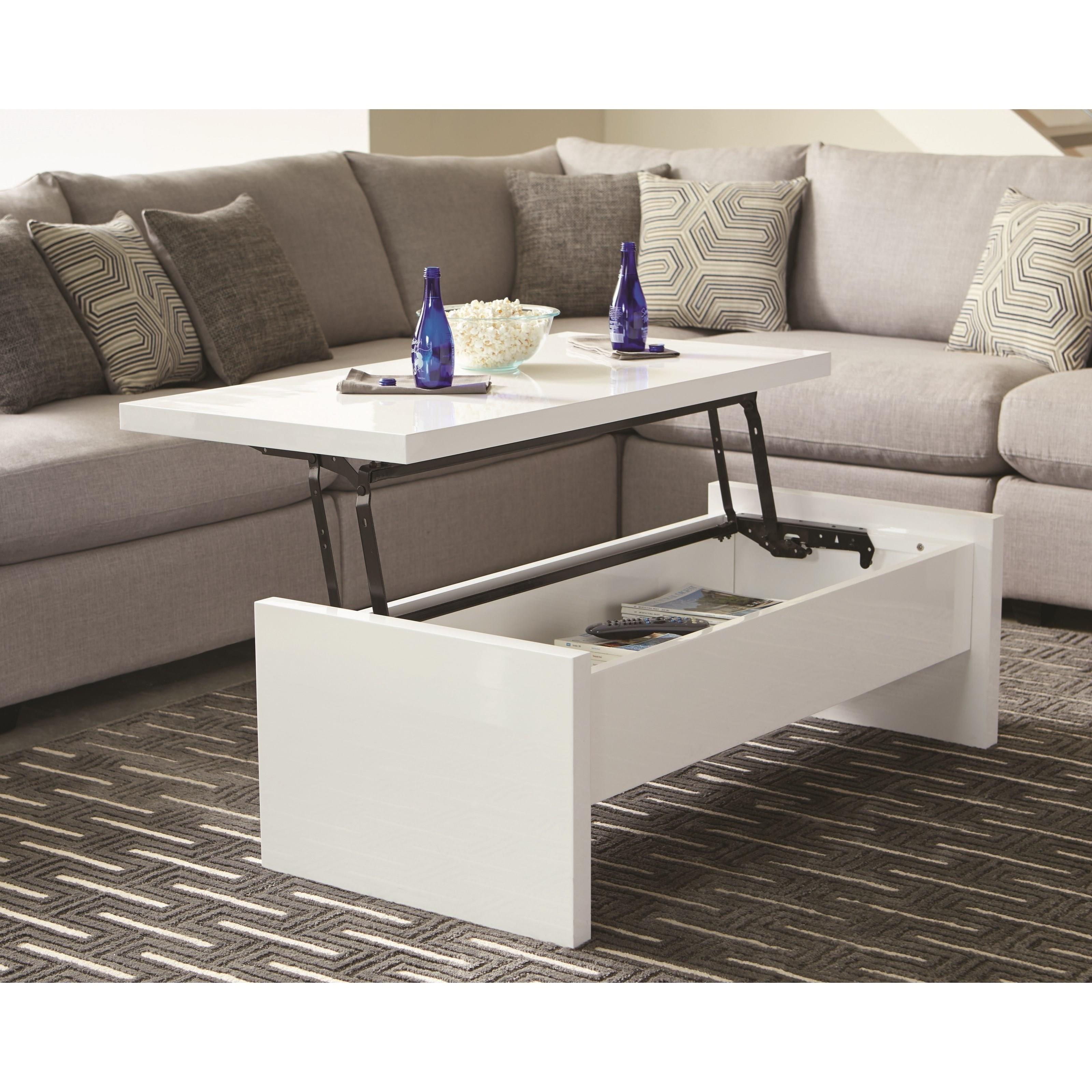 Scott Living Modern Coffee Table - Item Number: 721248