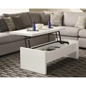 Coaster 72124 Modern Glossy Lift Top Coffee Table
