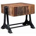 Scott Living 72178 Industrial End Table