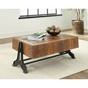 Scott Living 72178 Industrial Coffee Table