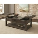 Scott Living Composition Lift Top Coffee Table - Item Number: 722418