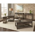Scott Living 72241 Transitional Lift-Top Coffee Table
