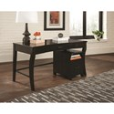 Scott Living 80175 Transitional Writing Desk with Curved Legs