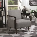 Scott Living 90404 Mid-Century Modern Accent Chair