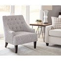 Scott Living 904068 Button Tufted Accent Chair