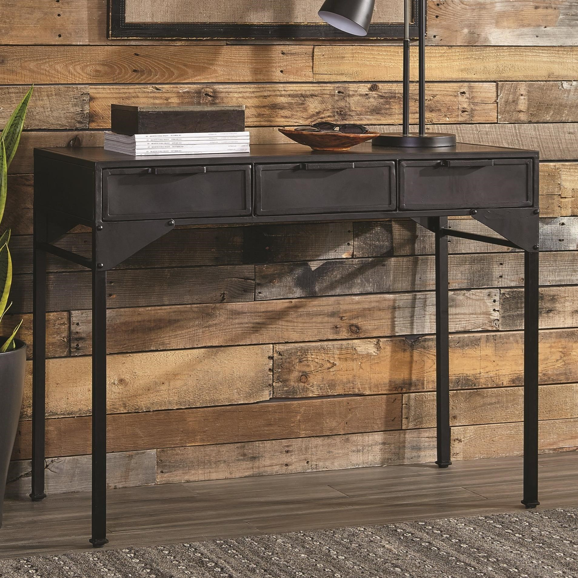 buy popular f137d 5250a 951049 Industrial Console Table by Scott Living at Value City Furniture