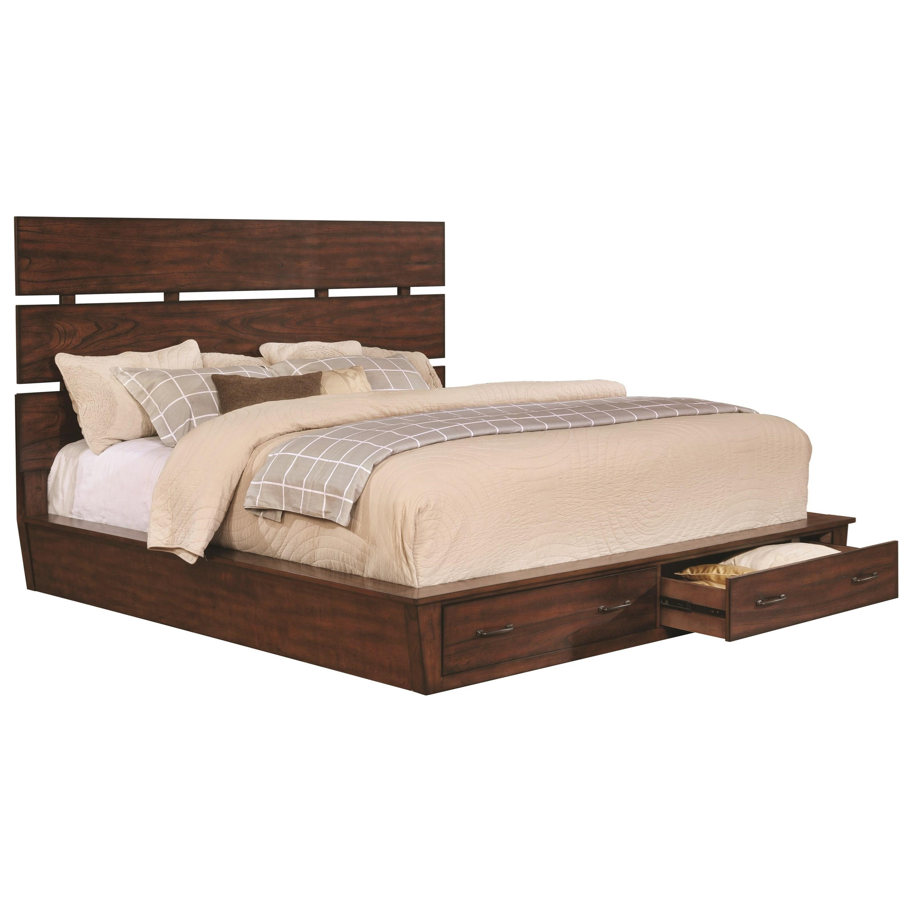 Scott Living Artesia Cal King Storage Bed - Item Number: 204470KW