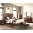 Scott Living Artesia California King Storage Bedroom Group 4 - Item Number: 204470KW-S5S