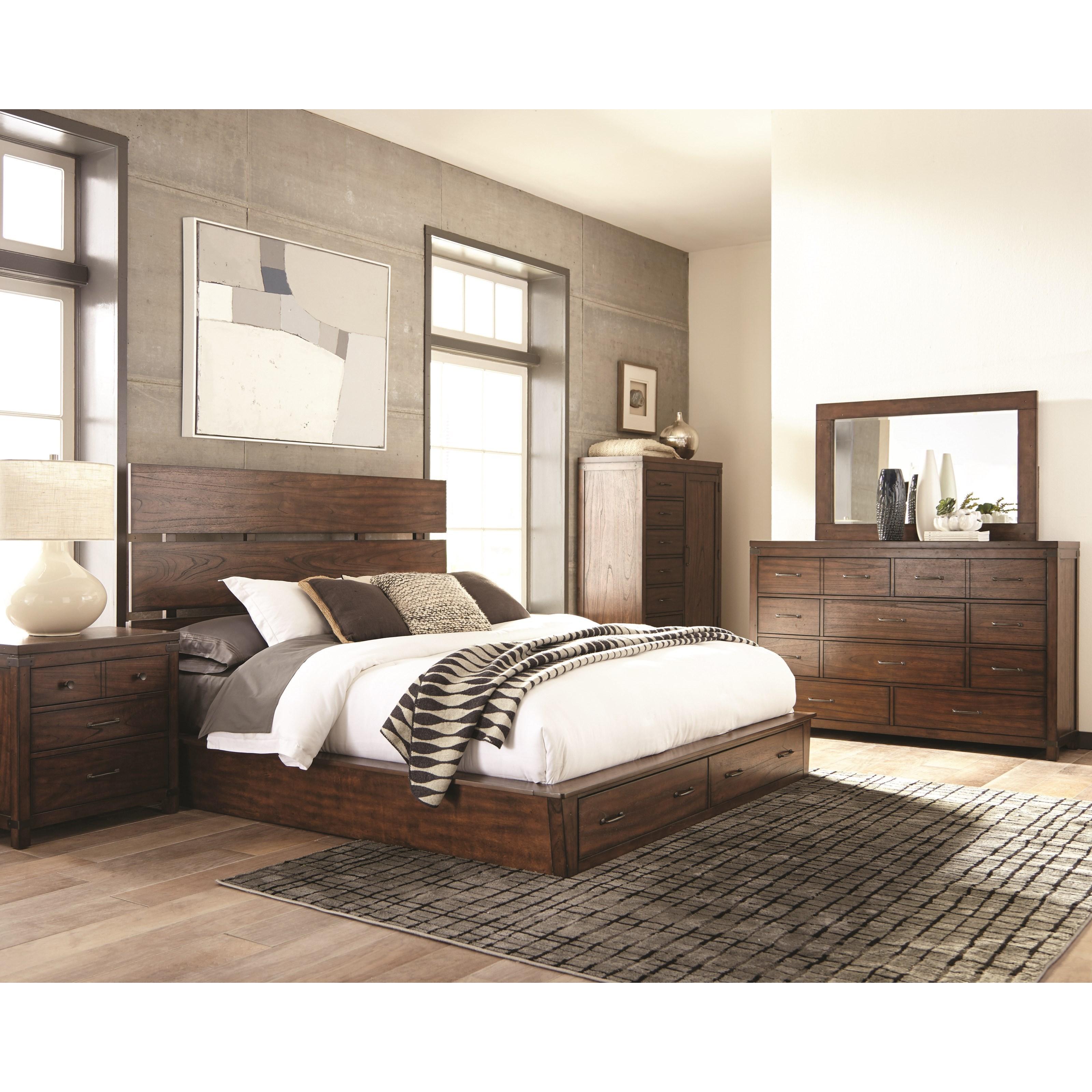 Cal. King Storage Bedroom Group