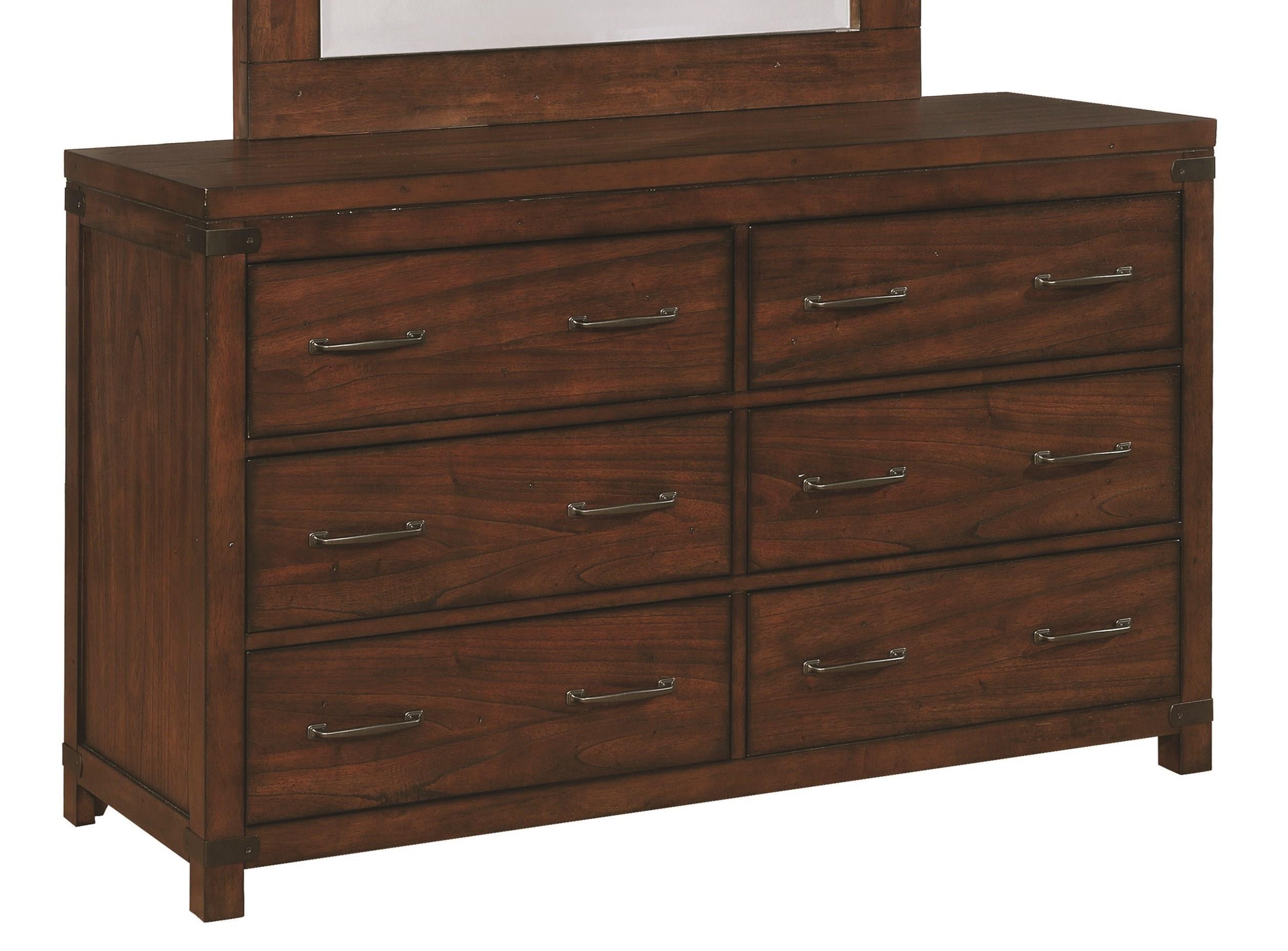 Scott Living Artesia 6 Drawer Dresser - Item Number: 204473