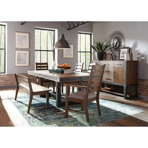 Dining Room Group with Bench