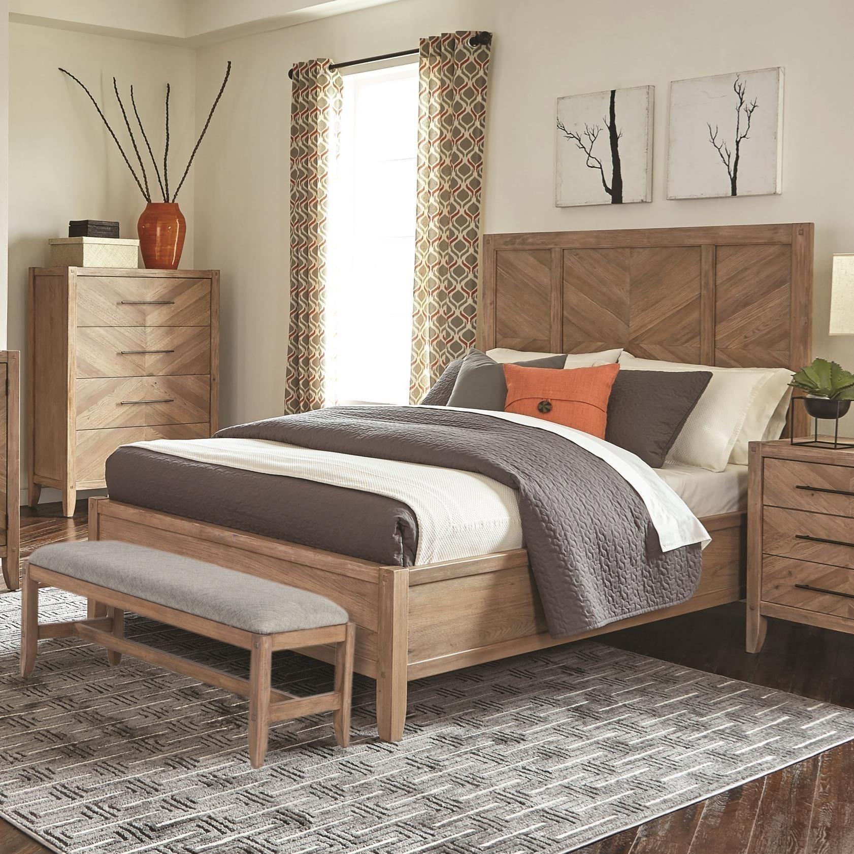 Scott Living Auburn King Bed - Item Number: 204611KE