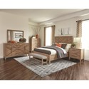 Scott Living Auburn King Bedroom Group 2 - Item Number: 204611KE-S4