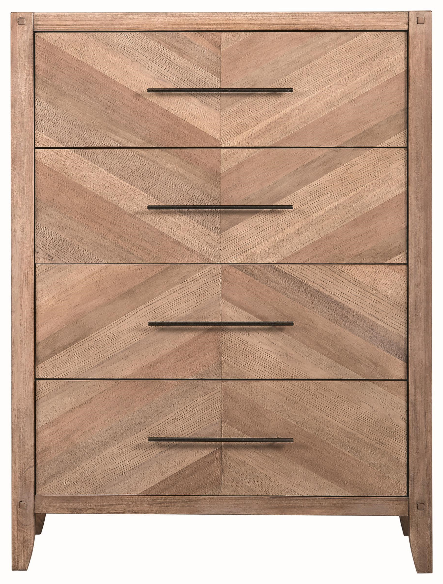 Scott Living Auburn 4 Drawer Chest - Item Number: 204615