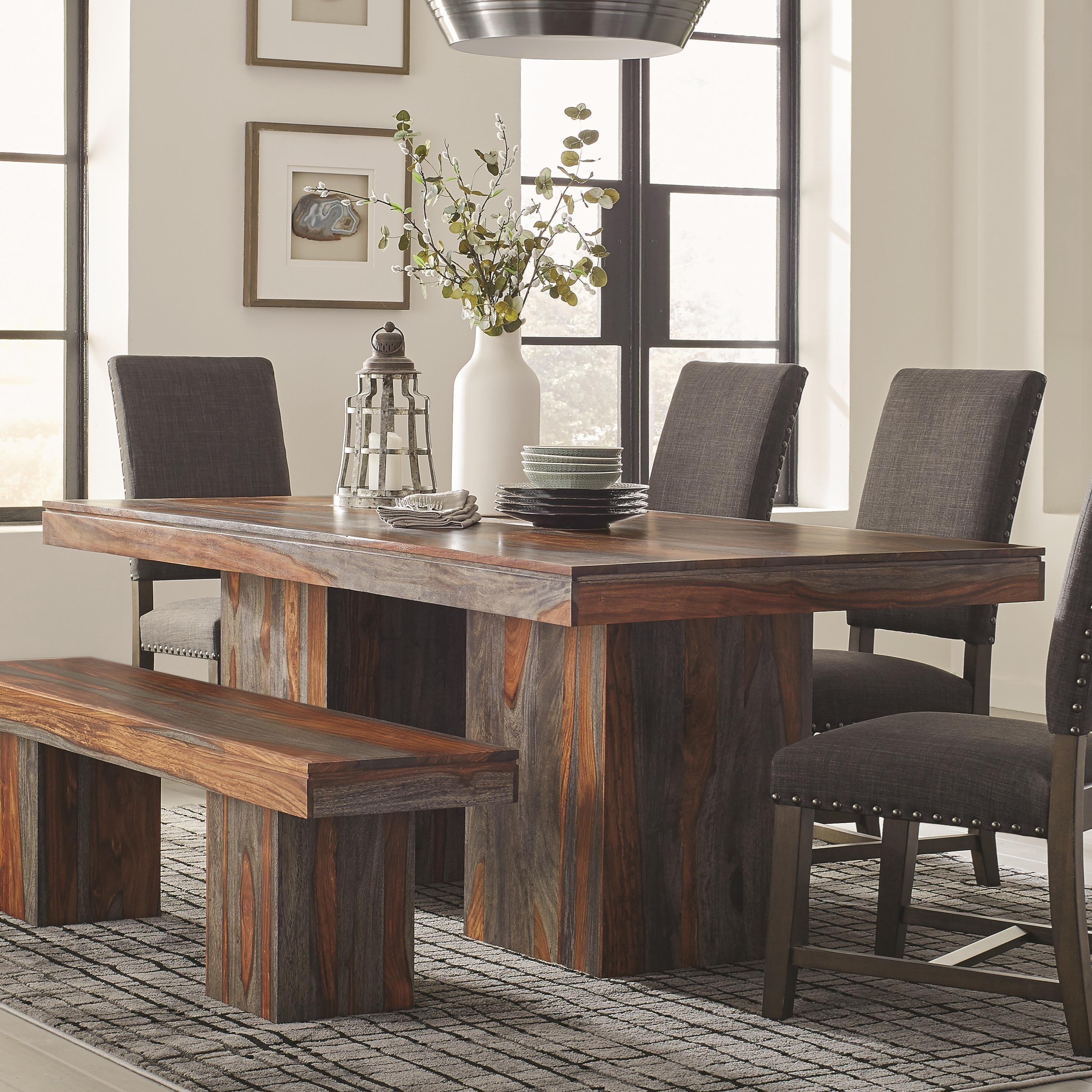 Binghamton Sheesham Rustic Dining Table by Scott Living at Standard  Furniture