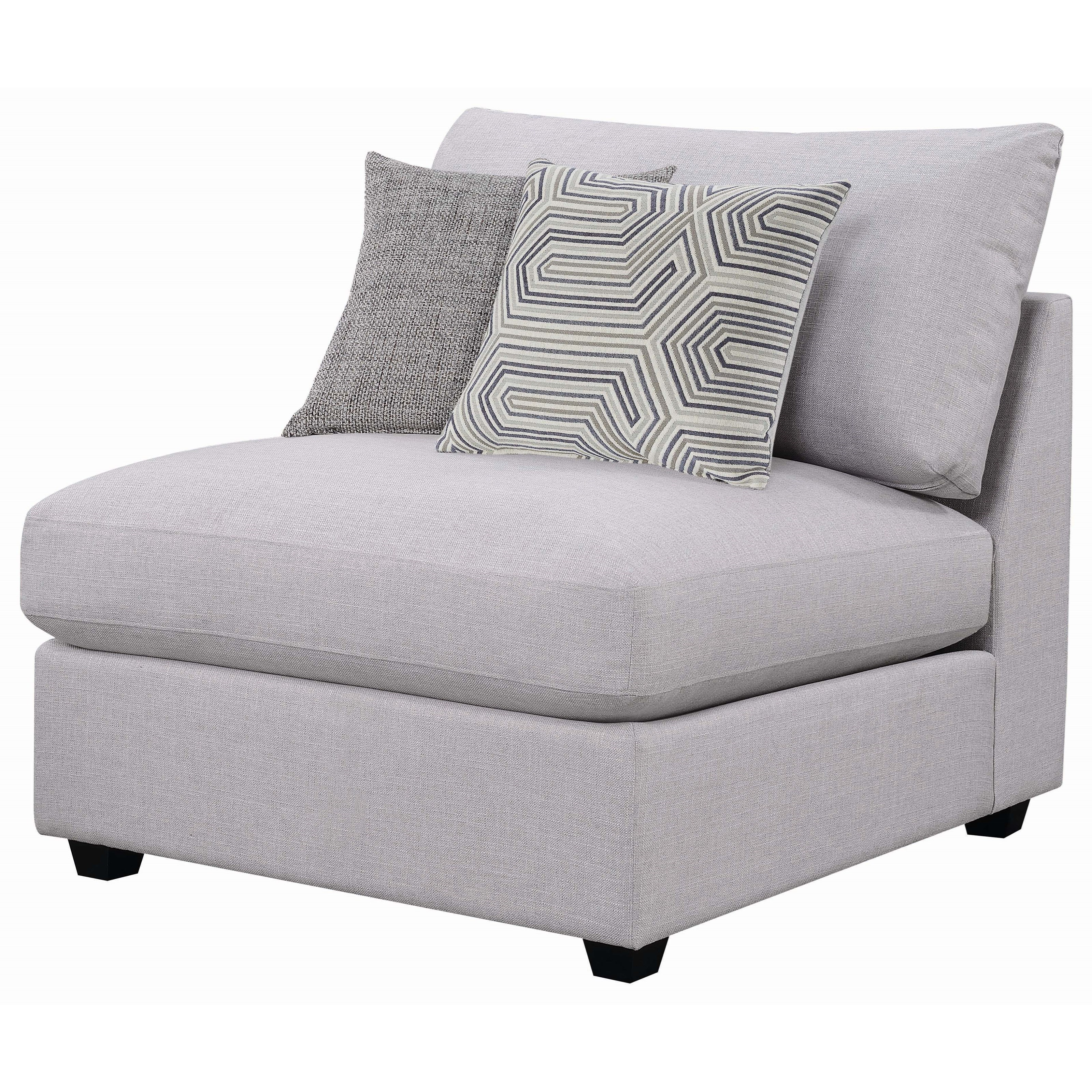 scott living charlotte modular sectional with storage