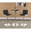 Scott Living Dixon Bar Table and Stool Set - Item Number: 182032+2x103075