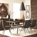 Scott Living Fremont Dining Table Set - Item Number: 107861+6x107852