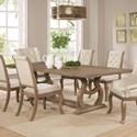 Scott Living Glen Cove Dining Table - Item Number: 107731