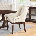 Scott Living Glen Cove Antique Java Arm Chair - Item Number: 107983