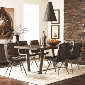 Scott Living Hutchinson Dining Table Set