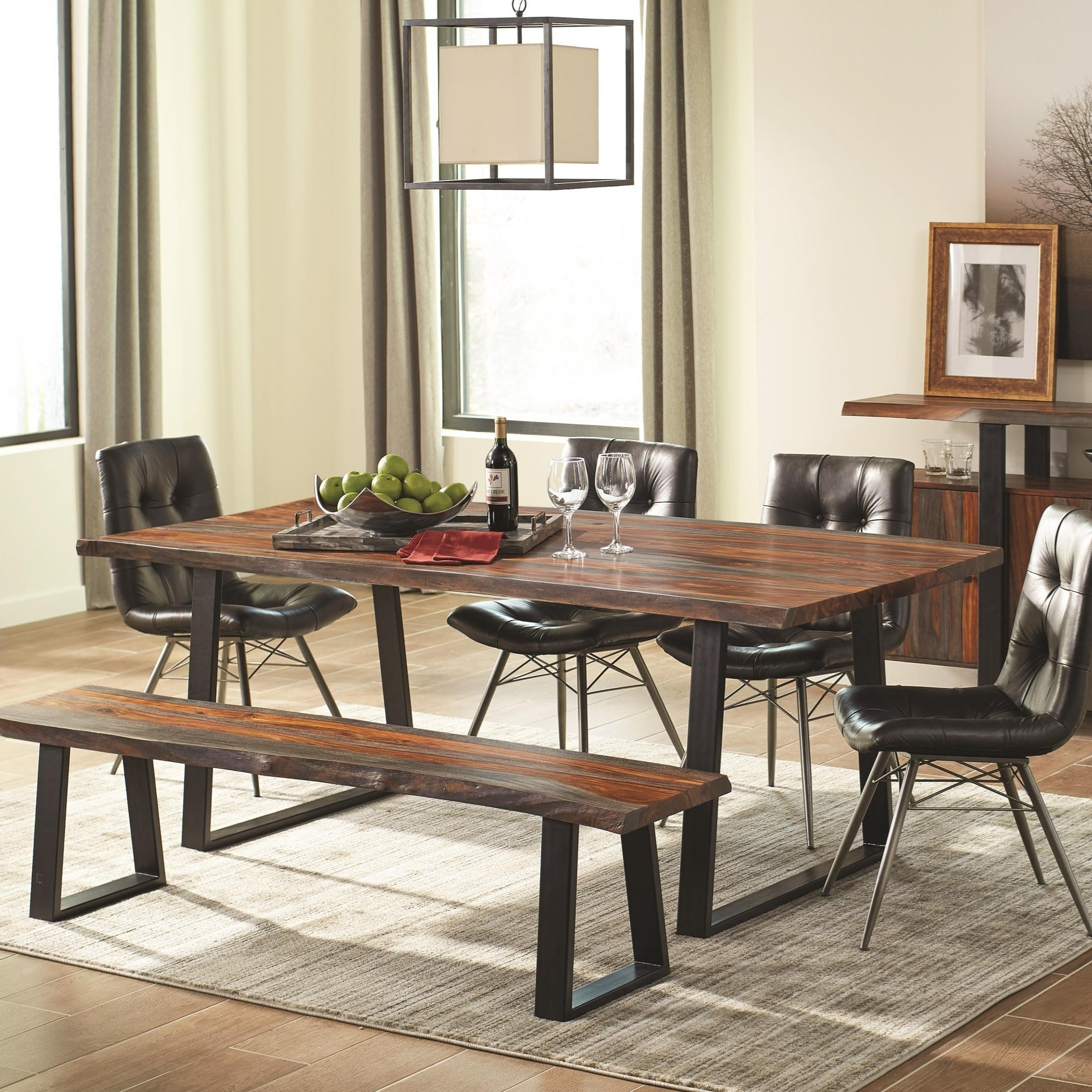 City Furniture Dining Room: Scott Living Jamestown 107511 Rustic Live Edge Dining