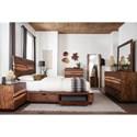 Scott Living Madden Queen Bedroom Group - Item Number: 21243 Q Bedroom Group 2