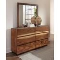 Scott Living Madden Dresser & Mirror - Item Number: 212433+212434