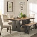 Scott Living Marquette Dining Table - Item Number: 107801