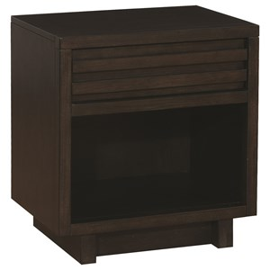 Scott Living Matheson 1 Drawer Nightstand
