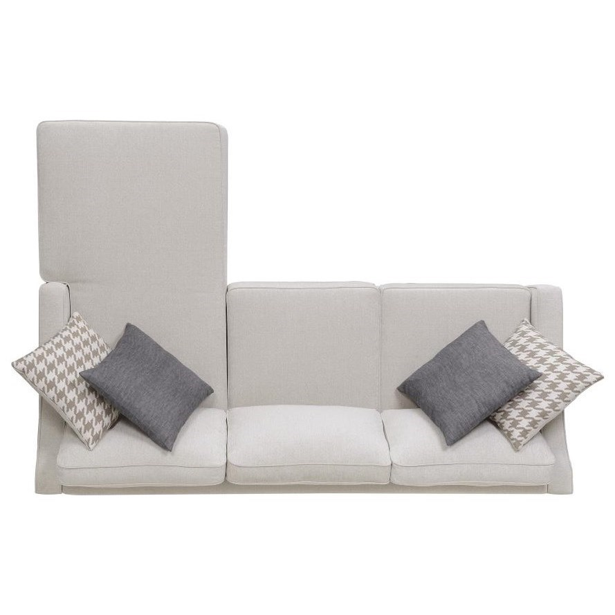 Scott Living Montgomery Modern Sectional Sofa With