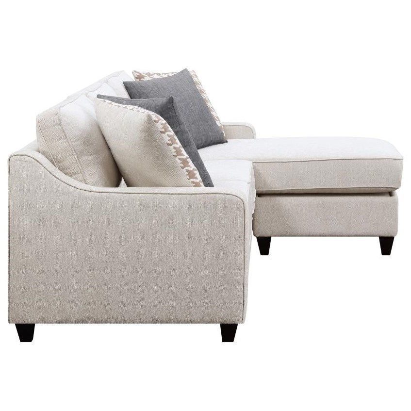 Scott Living Montgomery Modern Sofa With Track Arms And