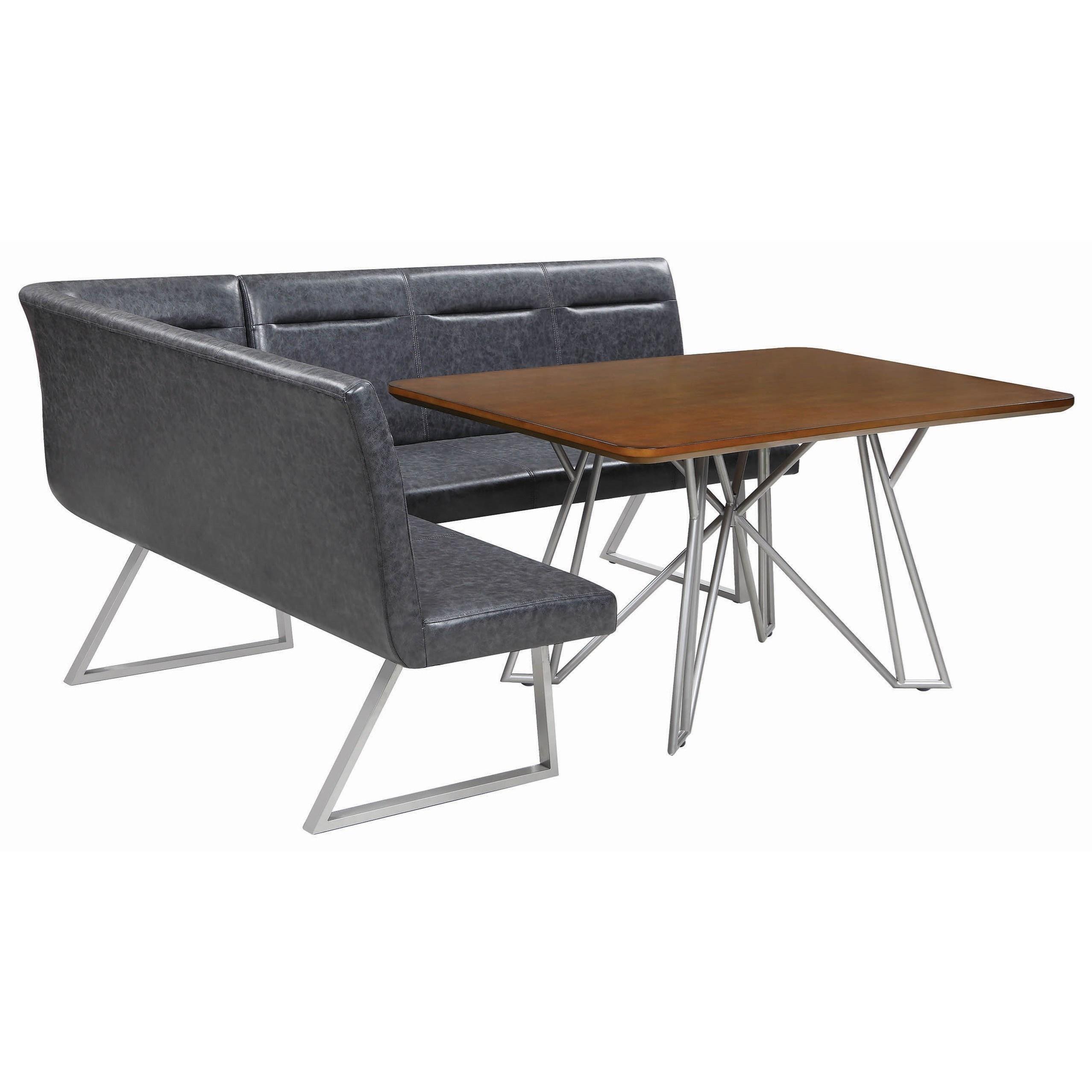 2 Pc Modular Dining Bench