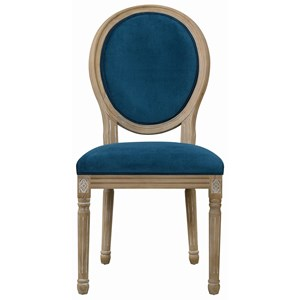 Dining Chair, Peacock
