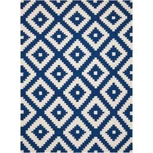 7' x 10' Blue Rug