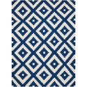 Scott Living Rugs 7' x 10' Blue Rug - Item Number: 970211L