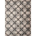 Scott Living Rugs 8' x 10' Charcoal and Light Grey Rug - Item Number: 970223L