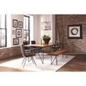 Scott Living Sutherson Live Edge Table and Chair Set with Bench