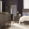 Scott Living Tara Dresser & Mirror - Item Number: 207013+207014